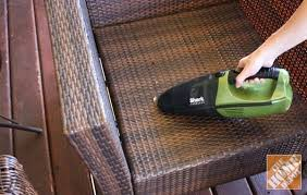 Cleaning Patio Furniture by How To Clean A Patio Without A Hose How To Clean Patio Cushions