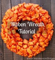 fall ribbon country is diy ribbon material fall wreath wreaths galore