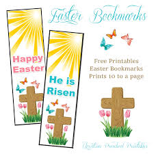 printable easter bookmarks to colour easter cross bookmarks the crafty classroom