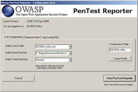 report builder templates org owasp report generator owasp