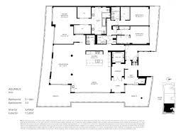 Parc Imperial Floor Plan Aquarius 15 Fort Lauderdale Condos For Sale And Rent Bogatov