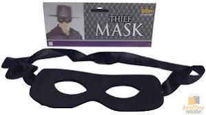 thief mask burglar bandit pirate halloween costume fancy dress
