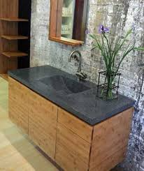 wall mounted bamboo bathroom cabinets with stone tops bamboo