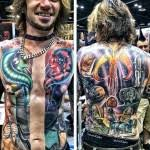 mind blowing mortal kombat full sleeve tattoo pic global geek news