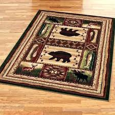 Log Cabin Area Rugs Rustic Area Rugs Chic For Dining Room Cabin Area Rugs For Cabins