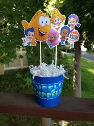 Bubble Guppies Toddler Bedding by Fully Assembled Bubble Guppies Centerpiece Birthday Party