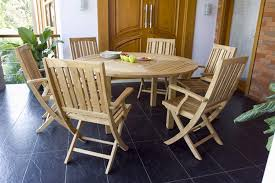 round wooden folding table round wooden folding dining table and 6 chairs for outdoor nytexas