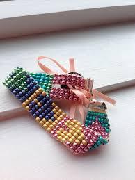 beaded heart bracelet images Beaded bracelet mirrix tapestry bead looms jpg