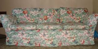 Top Quality Sofas Top Quality Sanderson Type Floral Fabric 3 Seater Settee Sofa In