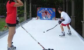 Best Backyard Hockey Rinks Synthetic Ice By Kwikrink Synthetic Ice Rinks Hockey