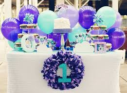 sweet 16 birthday party ideas adorable purple balloon birthday party pizzazzerie