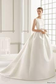 clean wedding dress gown wedding dresses rosa clara 2016 bridal collection bateau
