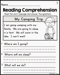 reading comprehension essay worksheet reading and comprehension