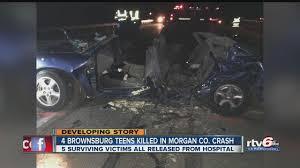 four teens killed in multi car crash on sr 37 theindychannel com