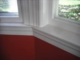 bay window trim ideas besides interior window trim molding further