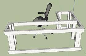 l shaped desk plans diy macho10zst