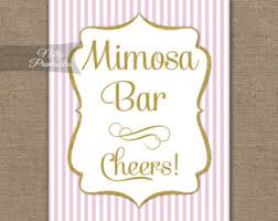 Baby Shower Candy Buffet Sign by Candy Buffet Sign Pink Gold Candy Bar Sign Printable