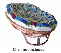 Papasan Chair Cushion Outdoor Decorating Iron Folding Chair With Black Papasan Chair Cushion