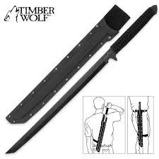 timber wolf full tang ninja sword budk com knives u0026 swords at