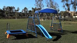 ironkids swing set u0026 playground youtube