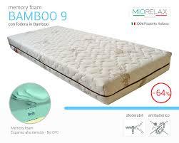 memory materasso materasso bamboo mercatone uno