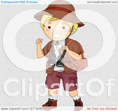safari binoculars clipart clipart of a blond white safari boy gesturing over his shoulder