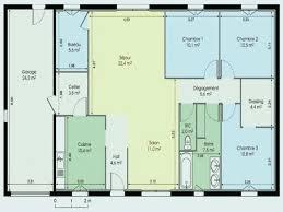 plan maison plain pied 2 chambres garage plan maison plain pied 120m2 inspirational maison plain pied 4