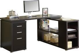 L Shaped Desk With Drawers Latitude Run Huntleys L Shaped Computer Desk U0026 Reviews Wayfair
