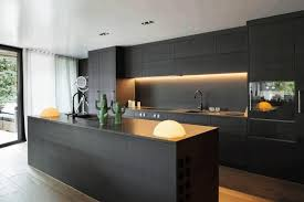 Matte Black Kitchen Cabinets Contemporary Matte Black Kitchen Cabinet Smooth Black Rock
