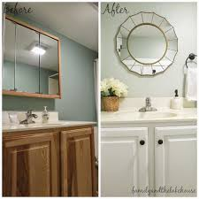 Guest Bathroom Vanity by Family And The Lake House Guest Bathroom Before And After