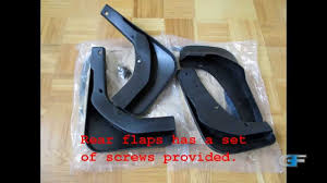 Ford Truck Mud Guards - rear mud flaps installation on ford escape kuga youtube