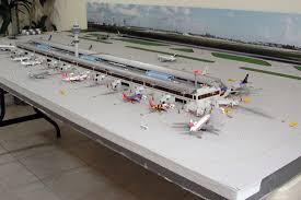 model airport runway lights airport diorama designs com images 1 400 single runway model airport