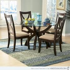 Unique Styles Of Round Glass Dining Table Home Design Lover - Kitchen table styles
