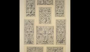 renaissance ornament no 1 renaissance ornaments in relief from