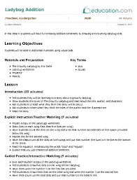 counting to 20 get u0027em in order lesson plan education com