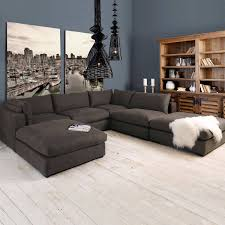 Stacey Leather Sectional Sofa 6 Modular Sectional Sofa Cleanupflorida