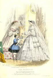 Wedding Dress English Version File Wedding Dress Fashion Plate For The Englishwoman U0027s Domestic