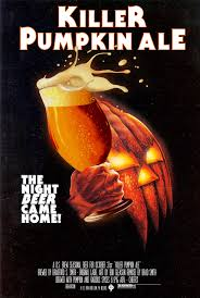 used the vintage halloween movie poster for my new pumpkin beer