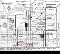Back Of The Yards Neighborhood Chicago Map by Forum Polishorigins View Topic Chicago Gorals In