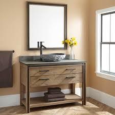 Celebration Vessel Sink Vanity Rustic Acacia Bathroom - Bathroom vanity for vessel sink