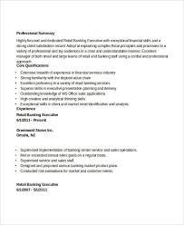 Retail And Sales Resume Executive Resume Examples 27 Free Word Pdf Documents Download