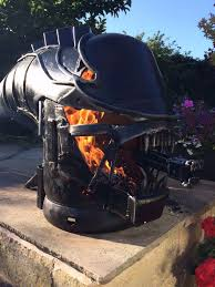 Make Your Own Firepit Creates Awesome Xenomorph Firepit Here S How To Make