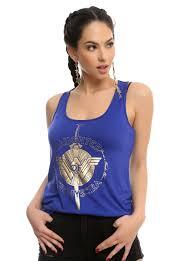 Wonder Woman Workout Clothes Wonder Woman Daughter Of Themyscira Sword Tank Top