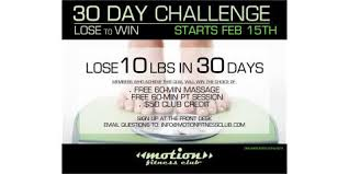 Challenge Motion Motion Fitness Weight Loss Challenge Motion Fitness Club