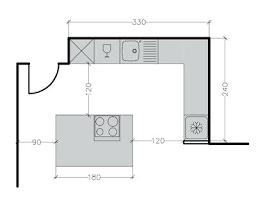 largeur plan de travail cuisine largeur plan de travail cuisine plan dune cuisine profondeur plan de