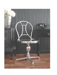 bureau chrome the black bureau luxury living room furniture and accessories
