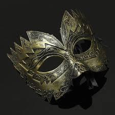 metal masquerade mask metal fancy party gladiator masked masquerade