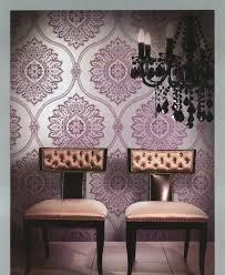 winfield thybony metallic flocked wallpaper yow amy u0027s house