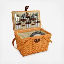 picnic basket for 2 2 person frisco picnic basket zola