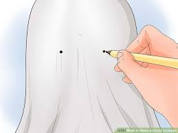 ghost costume how to make a ghost costume with pictures wikihow